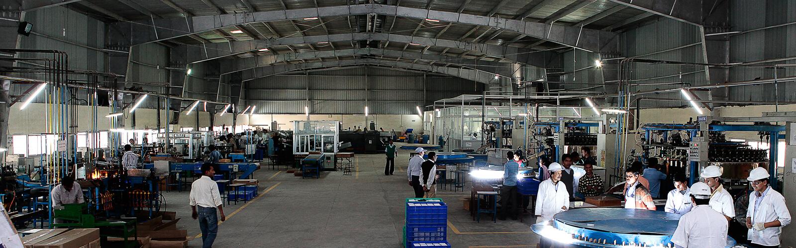 LED Manufacturing Plant - Orkus