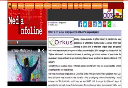 Orkus News Section